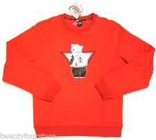 NWT $195 Opening Ceremony x Coca Cola Red Crew Neck Sweatshirt sz L