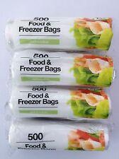 2000 x Food & Freezer Bags