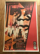Shepard Fairey OBEY GIANT - 2001 PLAYBOY - SIGNED OFFSET Print -MINT STORED FLAT