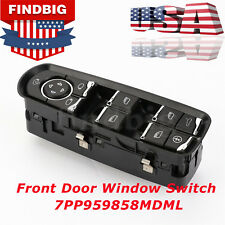 New For Porsche Panamera Cayenne Front Door Window Switch 7PP959858MDML USA