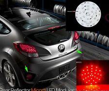 (Fits: Hyundai Veloster Turbo) LED Rear Bumper Light Reflector Module DIY Kit v2