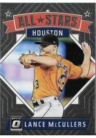 Lance McCullers - 2018 OPTIC INSERT ALL STARS - Card # 168 HOUSTON ASTROS