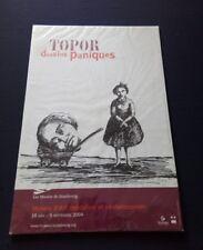 Belle Affiche  Dessins Paniques Topor Expo 2004