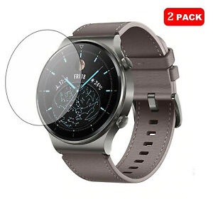 For Huawei Watch GT 2 PRO Tempered Glass Screen Protector Cover [2 Pack]