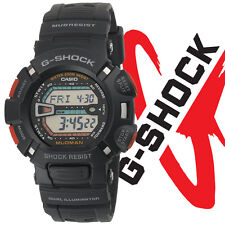 Casio G9000-1V Men's Mudman Alarm Chronograph Mud Resist Black G Shock Watch