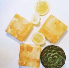 Handmade 100%Natural Luxurious Citrus Solid  Soap Bar Fresh & Energising Shea