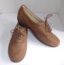 "SAS ""WHISPER"" women's 7.5M brown nubuck leather walking shoes Tripad Comfort USA"
