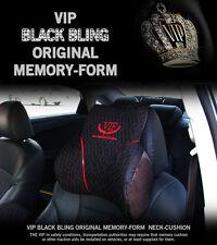 [VIP] BLACK BLING Head Neck Rest Cushion Comfortable Car Accessory Memory Foam