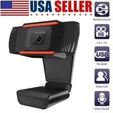 HD 720P USB 2.0 Webcam Digital Camera Video w/Microphone AutoFocus For Laptop PC