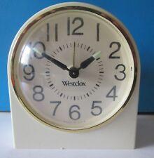 Vintage Westclox Wind Up Alarm Clock Glow in the Dark Arms Working