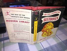 The Life and Works of Beethoven, John Burk,(1943), Modern Library Book #241