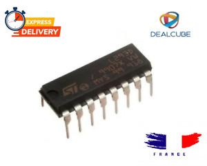 L293D Pilot Engine 4 Channels Double Bridge-H DIP-16 St For Arduino