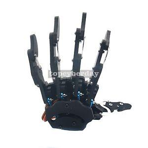 Assembled Mechanical Claw Clamper Gripper Arm Left Hand with Servos Robot DIY