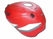 Yamaha YZF R6 1999-2002 Top Sellerie fuel Petrol Gas Tank Cover Red White Sport