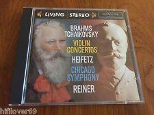 Arthur Rubinstein/Jascha Heifetz-Brahms,Tchaikovsky  Living Stereo