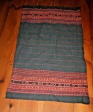 Antique woven Ikat Cloth blanket Skirt Indonesia Textile