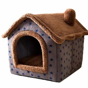 Dogs Bed House Comfortable Pet Litter For Small Cats Sleeping Pet Dog house LMS