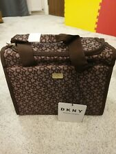 DKNY SIGNATURE THERMAL LUNCH Bag Brown  office new cooling bag last