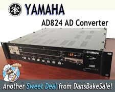 Yamaha AD824 AD Converter in Excellent Condition -  Comes with MY8-AE I/O Card!