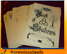 Wicca Book of Shadows 300+ Loose Parchment Pages Witchcraft Spells Pagan Magic
