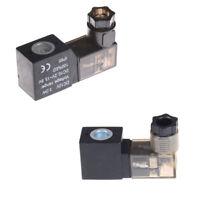 Electrical Pneumatic 4V110 Solenoid Valve Coil DC 12V with Lamp Ne IN