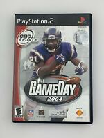 NFL Gameday 2004 - Playstation 2 PS2 Game - Complete & Tested