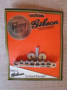 Vintage Gibson Bridge PBBR-015 Nickel Tune-O-Matic Brand New