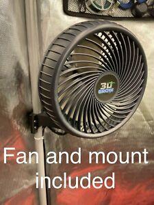 3D-Grow 22mm Grow Tent Oscillating Fan Kit AC Infinity Gorilla JL