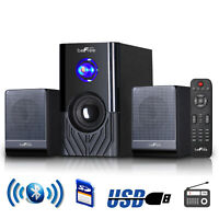 BeFree SOUND BFS-15 2.1 CHANNEL SURROUND BLUETOOTH HOME THEATER SPEAKER SYSTEM