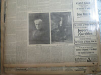 Woman Suffrage Newspaper 1900 LEADERS MARY HAY AND CARRIE CATT