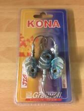 Grauvell Kona Jig-F - 40 Gram - 4/0 Hook - Jig Heads (pack 3) bass/pollock/cod