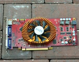 MSI N9800GT-T2D512-OC Nvidia GeForce 9800GT 512MB PCIe Gaming Graphics Card