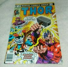 New ListingThe Mighty Thor # 286 Stan Lee Signed Comic 1979 Warlord Kro!