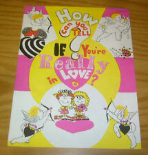 How Can You Tell If You're Really In Love? #1 VF ed-u press revised edition 1983