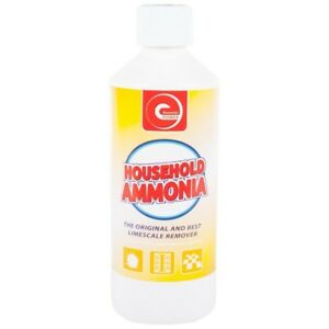2 x Household Ammonia Multi  Purpose Household Cleaner Stain Remover 500ml