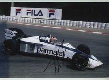 Nelson Piquet Brabham BT52 Belgian Grand Prix 1983 Signed Photograph
