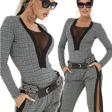 By Alina Damen Body Damenshirt Shirt Oberteil Top Damenbody 34 - XS  #C420