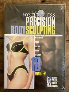 The Workout Less Precision Body Sculpting DVD New Sealed