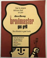 Broilmaster Gas Grill Warm Morning Locke Stove Company Manual Use Instructions