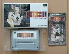 FRONT MISSION for SUPER NES Nintendo / Beand New from Japan