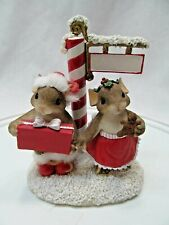 New ListingCharming Tails Happy Holidays from Us to You 87/147 Christmas Mice Mouse Red