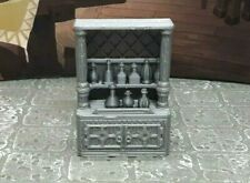 10 Piece Liquor Cabinet & Bottles Scatter Terrain Dungeons & Dragons Mini Model