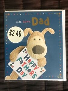 Fathers day card with Love Dad - Happy Fathers Day- Brand New