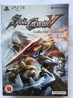 SOUL CALIBUR V (5) - COLLECTOR'S EDITION PS3 UK Brand New Sealed *FREE UK POST*