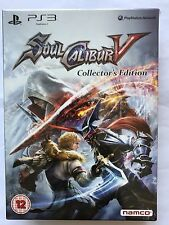SOUL CALIBUR V (5) - COLLECTOR'S EDITION PS3 UK Brand New Sealed *REDUCED*