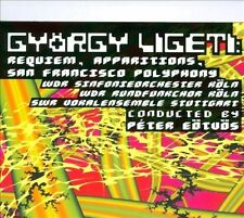 "Gy""rgy Ligeti: Requiem; Apparitions; San Francisco Polyphony CD & DVD (CD,..."