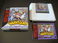 Wario Land Nintendo Virtual Boy Japan