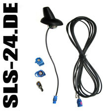 Calearo 15.7727004 Shark Dach Auto Antenne SAT GPS SMB F 5m Kabel Dachantenne