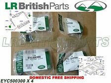 GENUINE LAND ROVER TAILGATE CLIPS RANGE ROVER 03-12 SET OF 4 EYC500300