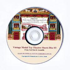 ☆ POLLOCK'S PAPER MODEL TOY THEATRE SHEETS ☆ RESTORED ORIGINALS ☆ Volumes1-3 ☆